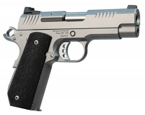 Ed Brown EVOKC9 Evo KC9 9mm Single 4 9+1 Black G10 Grip Stainless Steel Frame /Slide