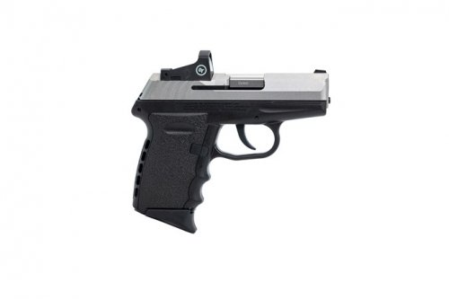 SCCY CPX-2 9MM SS/BLK 10+1 RED DOT