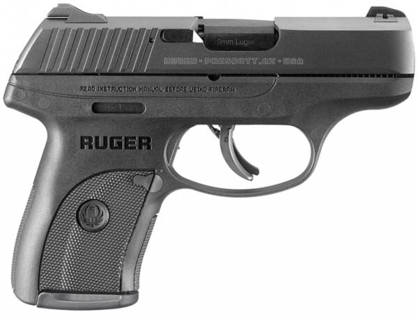 Ruger LC9S 9MM 3.12 7RD Black