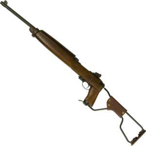 "Inland Mfg ILM150 M1A1 Paratrooper Carbine Semi-Automatic 30 Carbine 18"" 15+1 S"