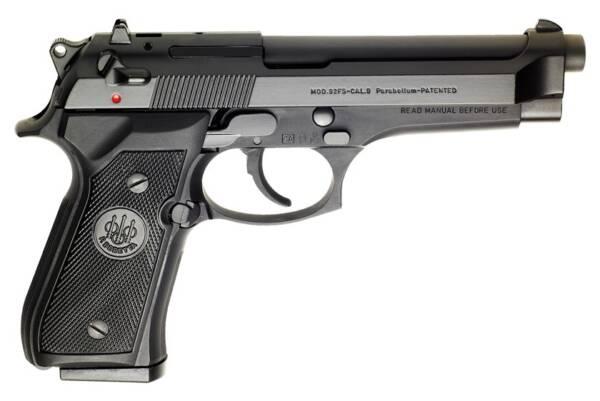 """Beretta 92FS 9mm Semi-Automatic 15rd 4.9"""" Pistol JS92F300M"""