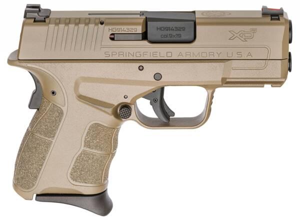 "Springfield XD-S Mod.2 9mm 3.3"" 7rd/9rd Pistol Desert FDE Cerakote XDSG9339F"