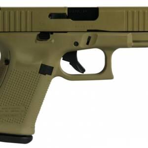 """Glock 19 Gen 5 FDE 9mm Handgun 4"""" 15+1 PA195S203FDE"""