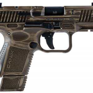 """Canik TP9 Elite SC Trophy 9mm Pistol HG6495-N Distressed Bronze 12rd/15rd 3.6"""""""