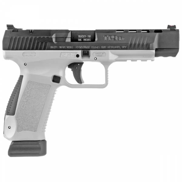 """Canik TP9SFX 9mm Pistol 5.2"""" White 20+1 HG5990-N"""