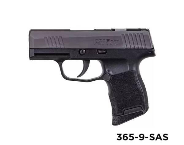 "Sig Sauer P365 SAS Handgun 9mm 3.1"" 365-9-SAS"
