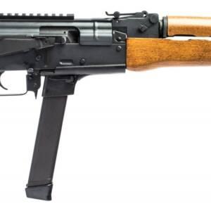"Century Arms Draco NAK9 9mm Semi-Auto AK Pistol 33rd 11.14"" HG3736-N"