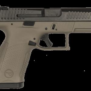 "CZ P-10 C FDE 9mm 15rd 4"" Pistol Fixed Night Sights 91532"