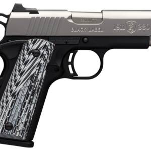 """Browning 1911-380 Black Label Pro SS Compact .380 Auto 3.62"""" 8rd Pistol"""
