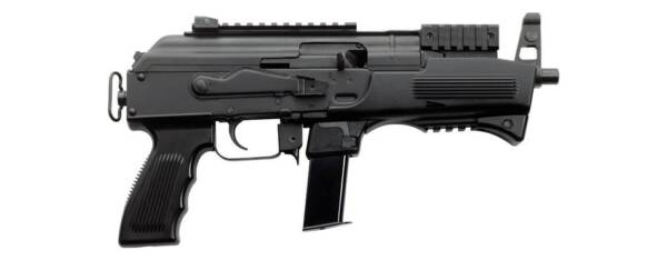"Charles Daly AK-9 9mm 10rd 6.3"" Semi-Automatic Pistol 440.071"