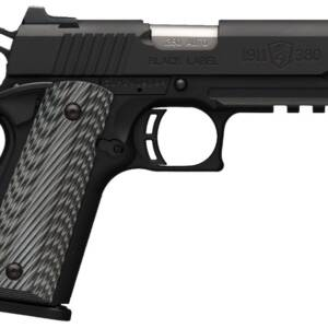 """Browning 1911-380 Black Label Pro Compact w/ Rail .380 Auto 8rd 3.62"""" Pistol 051909492"""