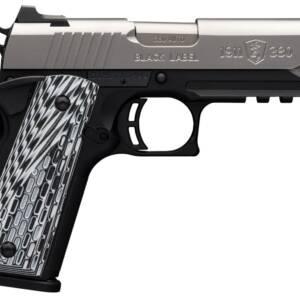 "Browning 1911-380 Black Label Pro SS Compact w/ Rail .380 Auto 4.25"" Pistol"